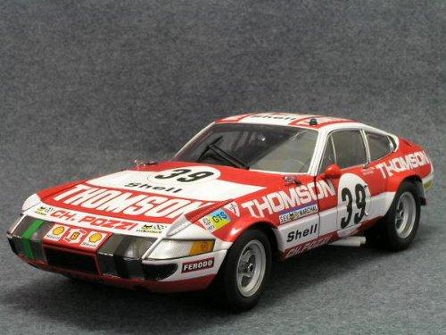 京商 1/18 フェラーリ 365 GTB/4 コンペティツィオーネ 1973 ルマン24H 総合6位 クラスウィナー #39 C.B-Lena / V.Elford