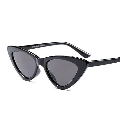 Amazon.com: Retro Vintage Cat Eye Sunglasses Narrow Sun Glasses for ...