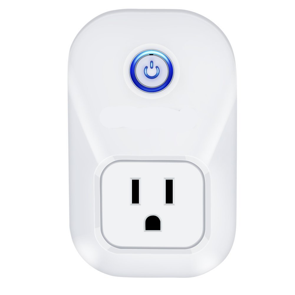 Alexa Smart Plug Wi-Fi Kaito No Hub Required Wireless Timing Smart Socket Remote Control your Devices for Smart Home Compatible with Alexa Echo Dot, Echo Tape and Amazon Echo, KA402