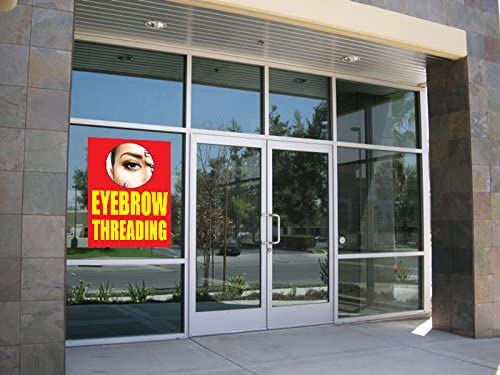 Eyebrow Threading 18x24 Business Store Retail Signs