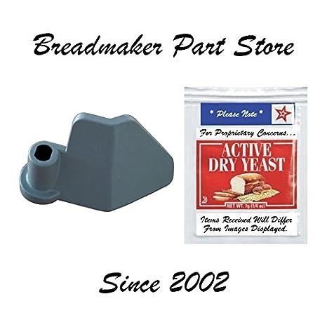 amazon com oster bread machine paddle 5814 5815 5839 5840 kneading rh amazon com Oster 5821 Bread Machine Manual Oster Instruction Manual