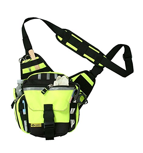 Safety Depot Push Pack Gear Bag Hi-Vis (Snap Card Expansion)