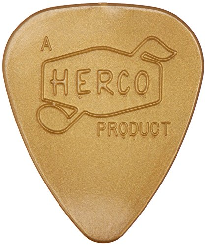 (Herco HEV210P Vintage '66, Gold, Light, 6/Player's Pack )