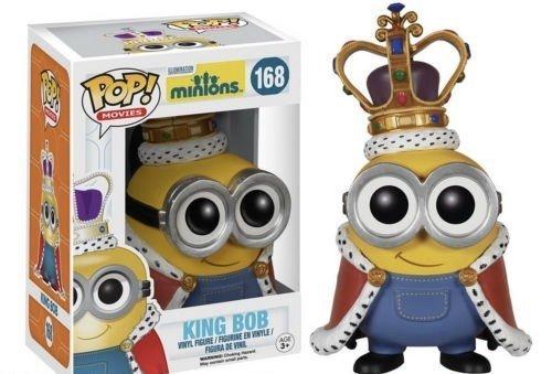 NEW Funko POP! Minions Movie Vinyl Figure - King Bob #168 by anny shop
