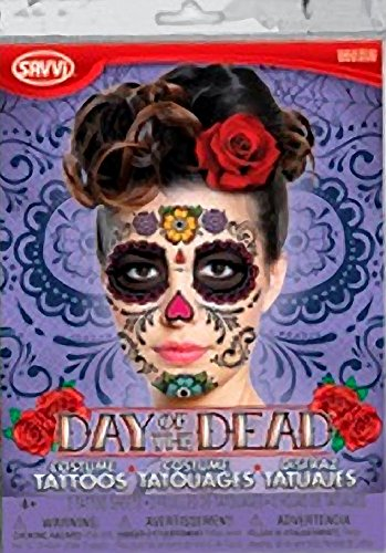Day of the Dead - (Purple Package) (Day Of The Dead Face Tattoo)