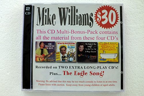 Price comparison product image Mike Williams Comey Bonus Pack - Recorded on Two Extra Long-Play CD's!