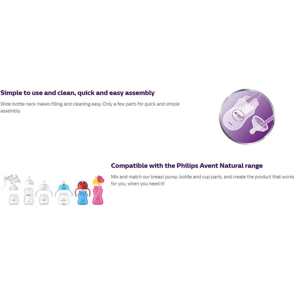 Amazon.com: Philips AVENT Natural Baby botellas de 4oz ...