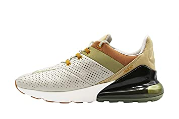 size 40 2b5a5 c33e7 Nike Men's Air Max 270 Premium Gymnastics Shoes, Beige (String  Ochre/Neutral Olive/Desert 200), 8 UK