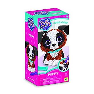 The Orb Factory PlushCraft Puppy 3D Kit: Toys & Games
