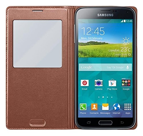 828 opinioni per Samsung EF-CG900BFEGWW S View Cover per Galaxy S5, Oro
