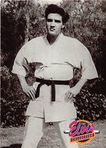 - Elvis Presley trading card 1992 Collection #531 Karate Kung Fu Martial Arts Master