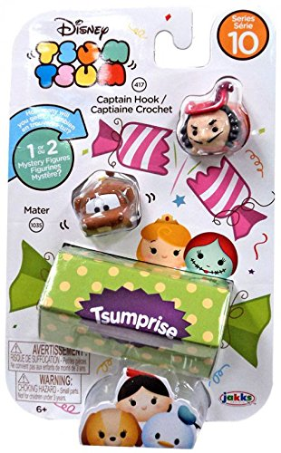 Tsum Tsum Disney Series 10 - Captain Hook/Mater/Tsumprise