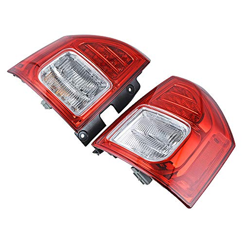 LR Driver Passenger Rear Back Tail Brake Stop Light Lamp Compatible with 2011-2014 Jeep Compass Pickup Truck