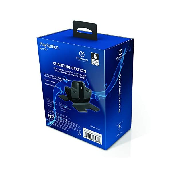 PowerA DualShock 4 Charging Station for PlayStation 4 3