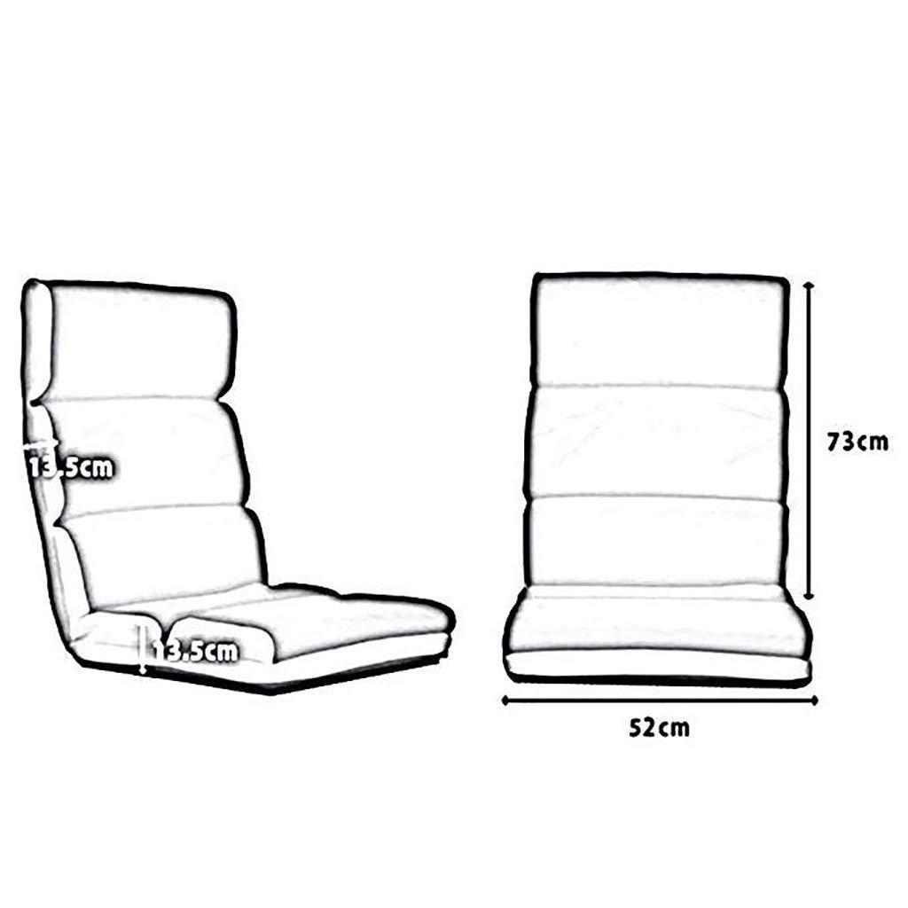 ETJar soffa golvstol burspråksfönster multifunktionell hopfällbar bäddsoffa amning datorstol, C c