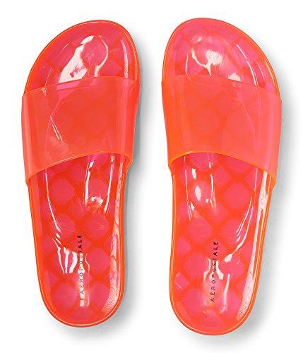 Aeropostale Jelly Slide Sandal Pink OQ1IfqjJ