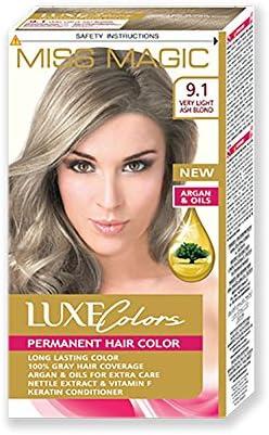 Tinta para pelo Miss Magic Tinte cenizas chiarissima Hair Colour con Argan