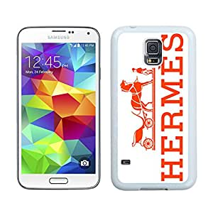 New Antiskid Designed Cover Case For Samsung Galaxy S5 I9600 G900a G900v G900p G900t G900w With Hermes 27 White Phone Case