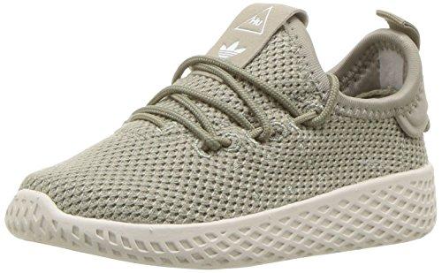 adidas Originals Kids' Pw Tennis Hu I,Tech Beige/Tech Beige/Chalk White,6 Medium US Toddler