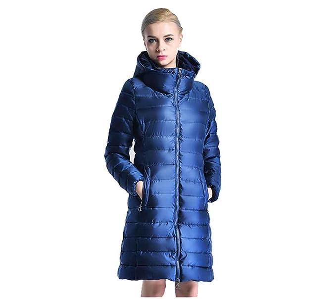 Abrigo de mujer Chaqueta larga femenina Parka de invierno ...
