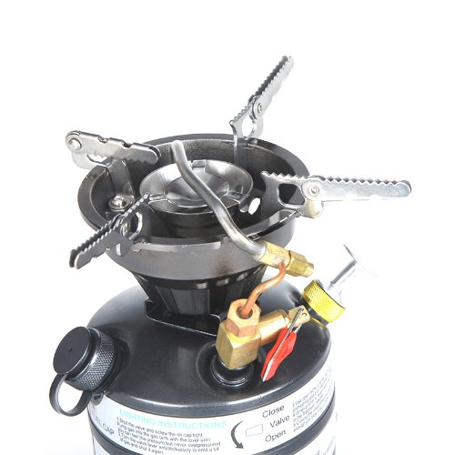 Amazon.com : Docooler Portable One-piece Outdoor Gasoline Stove Camping Picnic Hiking Burner : Sports & Outdoors