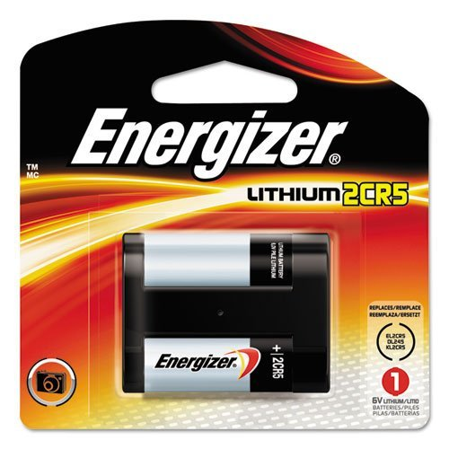 Energizer 2CR5 Lithium Battery (Best Small Canon Camera)