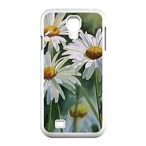 Custom Daisy,Sunflower Design Samsung Galaxy S4 Plastic Case Cover