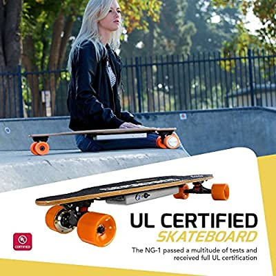 Swagtron SwagBoard NG-1 Youth Electric Longboard by Swagtron