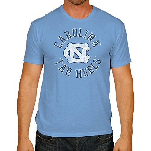 NCAA North Carolina Tar Heels Men's Victory Vintage Tee, Small, Carolina Blue (Heels Victory)