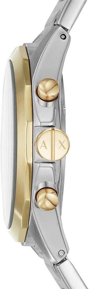 Armani Exchange Reloj Cronógrafo para Hombre de Cuarzo con Correa en Acero Inoxidable AX2617: Amazon.es: Relojes