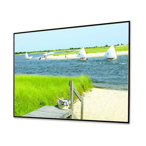 "HiDef Grey Clarion with Veltex Fixed Frame Screen - 92"" diagonal HDTV Format Size: 92"""