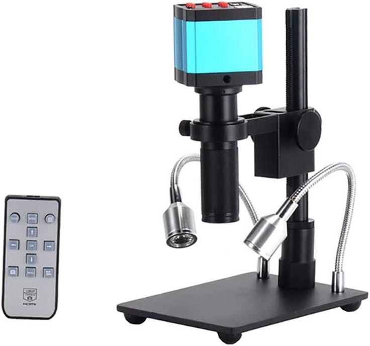 FYRS Video Microscopio Digitale Hdmi14 Milioni HD Adatto per La Lente dIngrandimento Elettronica per La Riparazione di Telecamere di Ispezione Industriale per Cellulari