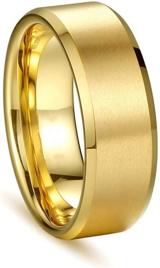 Fashionring Gold Color Stainless Steel Rings Engrave Name Couple Rings Lover Wedding Engagement Jewelry Dropshipping Lwp Ring 11 Amazon Co Uk Diy Tools