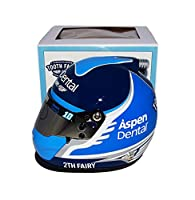 AUTOGRAPHED 2017 Danica Patrick #10 Aspen Dental Racing TURBOCHARGED TOOTH FAIRY (Stewart-Haas Team) Monster Energy Cup Series 2TH FAIRY Signed Lionel NASCAR Replica Mini Helmet with COA from Trackside Autographs