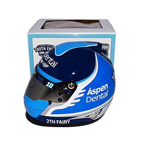 Autographed 2017 Danica Patrick  10 Aspen Dental Racing Turbocharged Tooth Fairy  Stewart Haas Team  Monster Energy Cup Series 2Th Fairy Signed Lionel Nascar Replica Mini Helmet With Coa