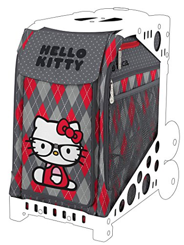 Zuca Hello Kitty ''Geek Chic'' Sport Insert Bag (Bag Alone, Sport Frames Sold Separately) and cute Hello Kitty Keychain by ZUCA