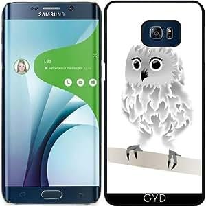 Funda para Samsung Galaxy S6 Edge Plus - Búho Blanco by Nina Baydur