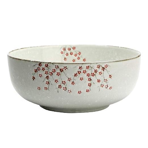 AHAI YU La Mezcla de cerámica pintadas a Mano Grande de Sopa ...