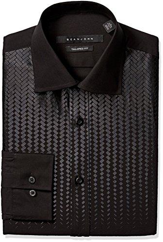 sean-john-mens-regular-fit-printed-bib-spread-collar-dress-shirt-black-165-neck-32-33-sleeve