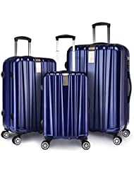 Windtook Luggage Sets 3 Piece Expandable Spinner Suitcase 8050, 20in24in28in