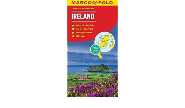 Ireland Marco Polo Map Marco Polo Maps by Marco Polo 2016-05-12 ...