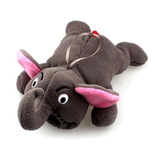 Ouneed® 500ml Biberon Housse Pelucheux Conserver Chaud (Elephant)