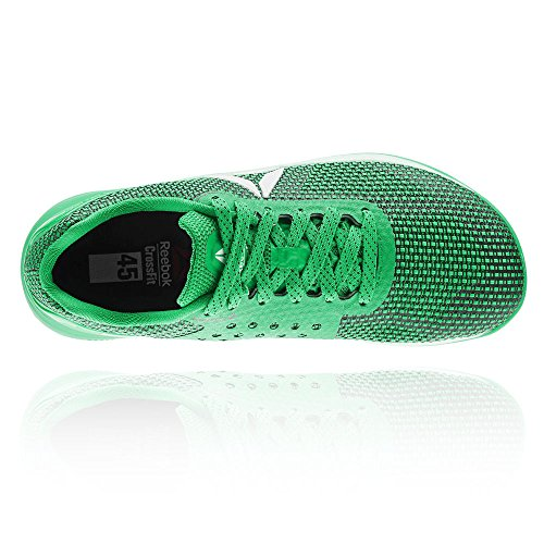 Grün Hallenschuhe Verde Silver 0 Herren White Nano Reebok Crossfit Green R 7 Black Bottle 0wTUqCax