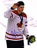Sidney Crosby Signed Photo - TEAM CANADA 11x14 GOLD MEDAL w COA A - Autographed NHL Photos