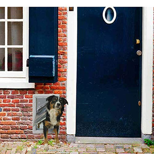 "Ideal Pet Products Designer Series Ruff-Weather Pet Door Wall Installation Kit, Medium, 7.25"" x 13"" Flap Size"