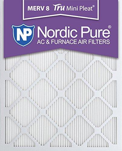 """Pure 20x24x1M8MiniPleat-3 Tru Mini Pleat Merv 8 AC Furnace Air Filters (3 Pack), 20"""" x 24"""" x 1"""" [並行輸入品]"""
