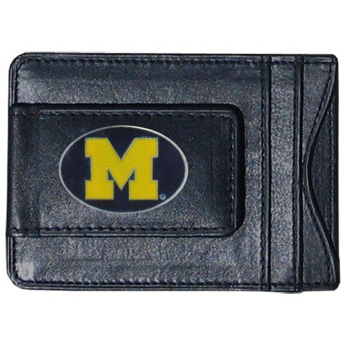 Michigan Wolverines Mens Leather - 1