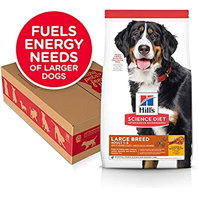 Hill's Science Diet Dry Dog Food, Adult, Large Breeds, Chicken & Barley Recipe