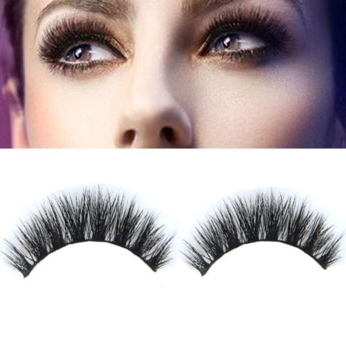 New Mink Natural Thick False Fake Eyelashes Eye Lashes Makeup - Hills Clinic Beverly Women's