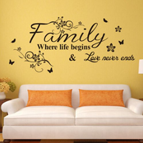 English Proverbs Wall Stickers Decor Living Room Wall Stickers: Amazon.co.uk:  Kitchen U0026 Home Part 14
